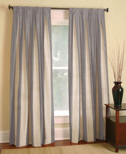 restoration hardware curtains restoration hardware silk taffeta pavilion stripe drapes