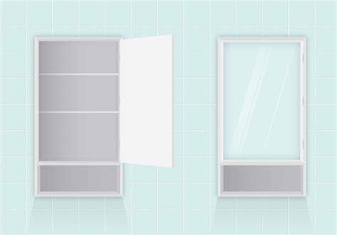 vector bathroom cabinets   vectors clipart
