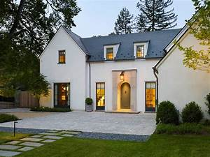 modern french country exterior mediterranean with manor
