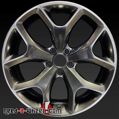 Dodge Charger Stock Rims by 20x8 Dodge Challenger Charger Oem Wheel 15 Hyper Gray