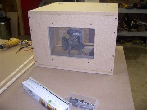 homemade air filtration system woodworking talk