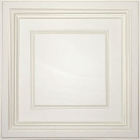 Ceilume Ceiling Tiles by Ceilume Sand 2 Ft X 2 Ft Lay In Coffered Ceiling