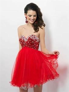 robe rouge de soiree courte pas cher la mode des robes With robe de soirée courte pas cher