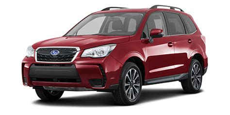 subaru forester red 2018 2018 subaru forester release date and pricing starts at