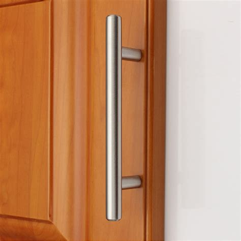 kitchen cabinets handles stainless steel 2 18 quot modern stainless steel kitchen cabinet t pulls 8057