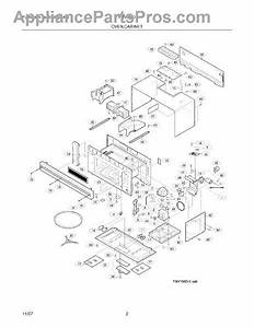 Parts For Frigidaire Fmv156dcg  Cabinet Parts