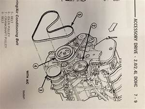 Dodge Neon Serpentine Belt Diagram