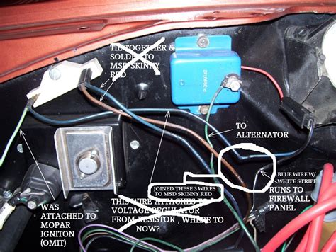 msd ignition  voltage regulator mopar forums