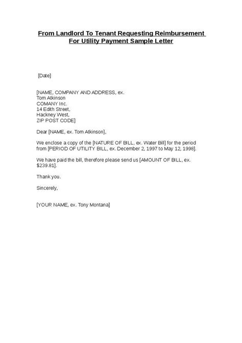 landlord letter to tenant best photos of sle letter proof of tenant proof of