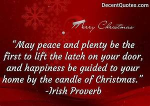 Decent Quotes -... Peace And Plenty Quotes