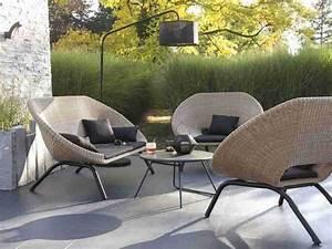 Chaise Salon De Jardin Pas Cher : salon de jardin textilene pas ~ Teatrodelosmanantiales.com Idées de Décoration