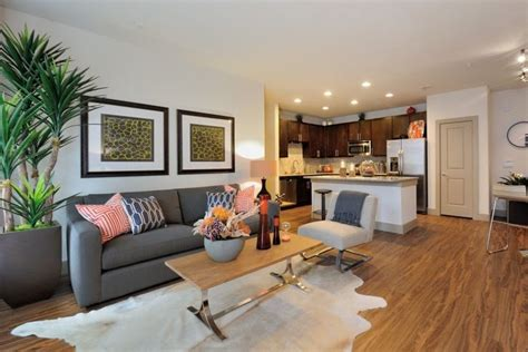 Cozy Living Room At Broadstone Park West Apartments In