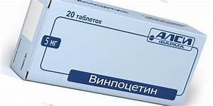 Винпоцетин при лечении шейного остеохондроза