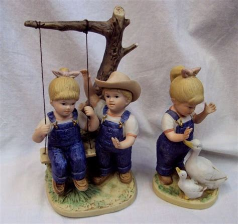 home interior denim days figurines denim days lot shop collectibles daily