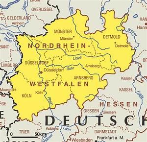 Nord Rhein Westfalen : nordrhein westfalen map federal states of germany map of germany ~ Buech-reservation.com Haus und Dekorationen
