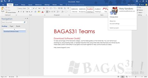 gratis microsoft office   bagas downwup