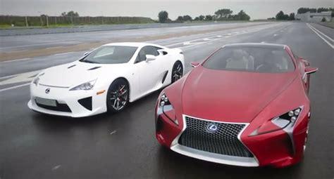 lexus lfa 2020 lexus lfa meets the lf lc concept video