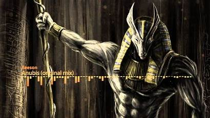 Anubis Egyptian Wallpapers Mythology Gods God Backgrounds