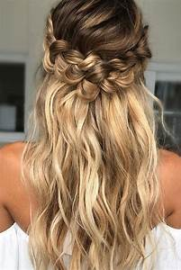 39 Braided Wedding Hair Ideas You Will Love Wedding Day Hair Pinterest Braided wedding