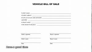 download bill of sale form templates With vehicle bill of sale as is template