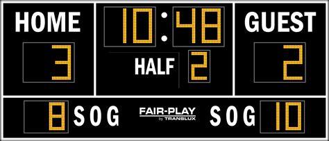 Sc81142  Fairplay Scoreboards