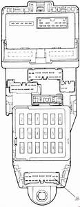Mazda 626  1987 - 1992  - Fuse Box Diagram