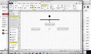 Create Activity Diagram In Microsoft Visio