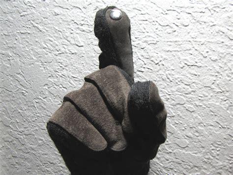 sew touchscreen gloves