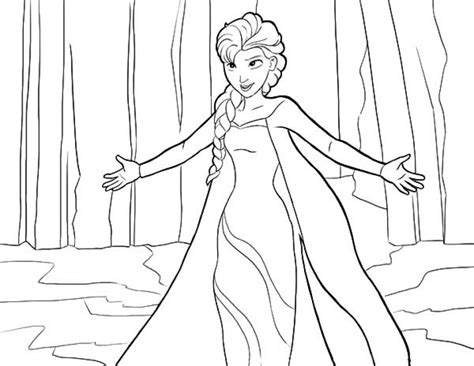 Coloring Elsa by 43 Printable Elsa Coloring Pages Free Printable Coloring