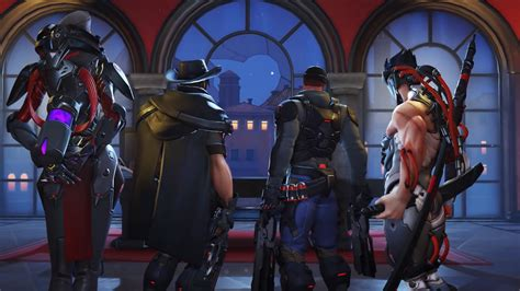 overwatch retribution skins  mei hanzo doomfist