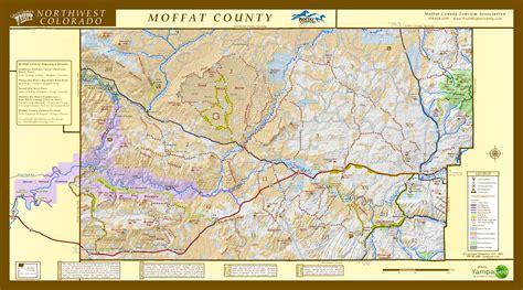 moffat county map moffat county