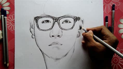 Bts V Drawing Easy Chibi Shefalitayal