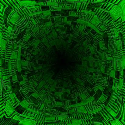 Digital Tech Matrix Animated Data Stream Sci