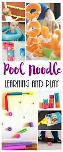 Tons of Learning and Play Ideas with Pool Noodles
