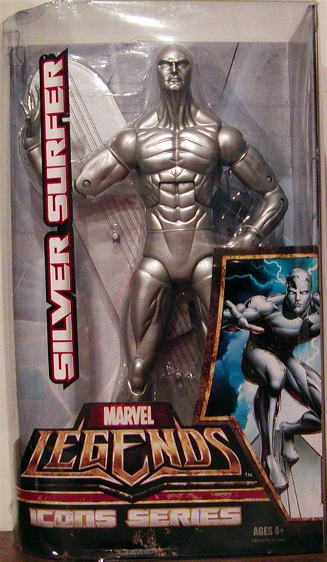 marvel legends icons series silver surfer action figure