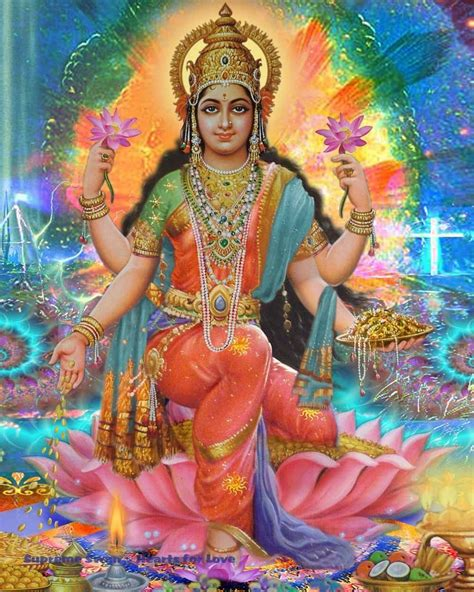 beautiful art print  lakshmi goddess  prosperity