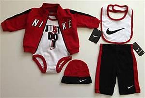 AIR NIKE BABY Clothing Newborn Boys Infant 5-pc Bodysuit Bib Hat Pants u0026 Hoodie | eBay