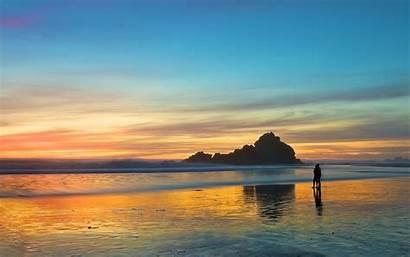 Romantic Sunset Beach Wallpapers Couple