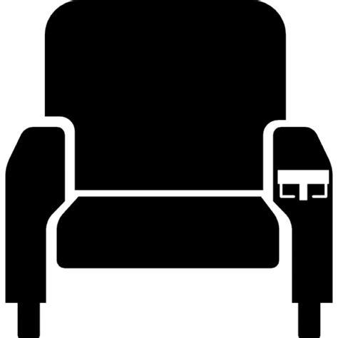 cinema siege silhouette siège de cinéma télécharger icons gratuitement
