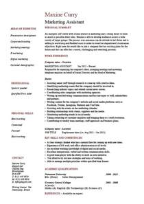 resume format template for job description marketing assistant resume job description template exle sales clients format layout pr