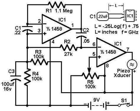 how to build economy radar detector circuit diagram
