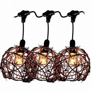 Guirlande Lumineuse Solaire Exterieur : jolie guirlande lumineuse avec 12 boules en rotin 63800 ~ Dailycaller-alerts.com Idées de Décoration