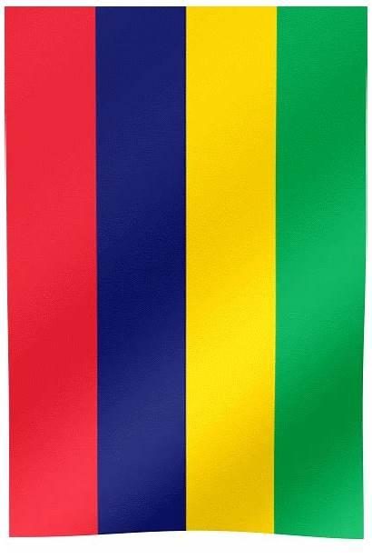 Mauritius Flag Waving Flags Bassin Beau Hill
