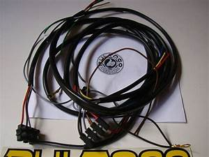 Bultaco Lobito Wiring Harness Full Bike New Bultaco Sherpa