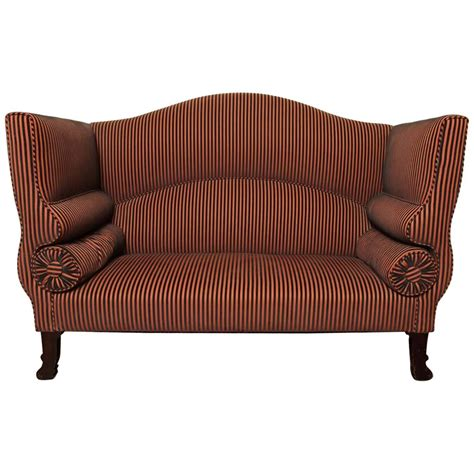 Settee For Sale by Regency High Back Settee For Sale At 1stdibs