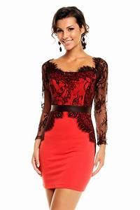 robe de soiree rouge noire robe de soiree rouge noire With robe de soirée rouge pas cher