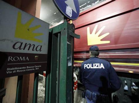 ama roma uffici ama chiude l autorimessa al salario la asl locali