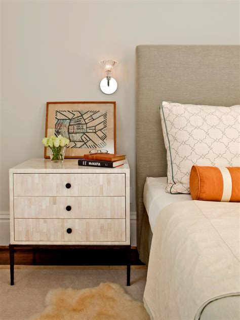 Stands Bedroom by Tips For A Clutter Free Bedroom Nightstand Hgtv