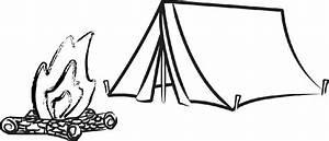 Tent clipart black and white | Clip art | Pinterest ...