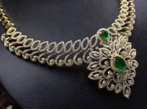 diamond necklace  rs  piece diamond necklace